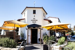 The visually represent a commercial restaurant painting job done by eduardo vicente painting in santa barbara