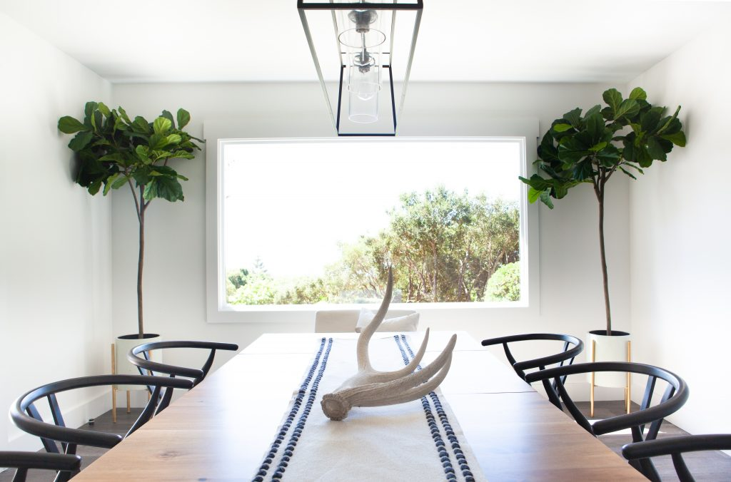 To visually represent a painting job done by Eduardo Vicente Painting in Montecito