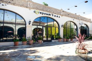 To showcase the commercial painting done at Core Power Yoga in Santa Barbara by eduardo vicente painting